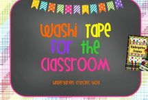 Washi Tape for the Classroom / by Kindergarten Crayons