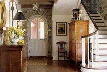 Entry Halls & Stairways / Forays into the Foyer / by Pamela Osborne
