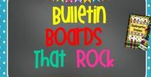 Bulletin Boards That Rock / Here are my favorite bulletin boards to keep me inspired to display student work.