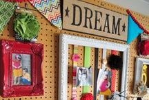 Craft Room ideas / by Becky Steele