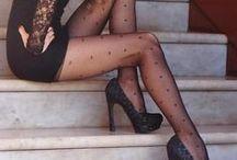 Tights - Stockings - Calze - Autoreggenti - Female Seduction