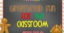 Gingerbread Fun In the Classroom / Here are my favorite gingerbread activities to use in my kindergarten classroom! We love this unit right before winter break!