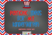 Patriotic Ideas for My Kindergarten / This board is for ideas to implement a patriotic unit and for celebrating Flag Day.