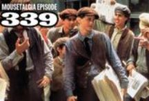 "Mousetalgia! - Episode 339 - April 20, 2015 / Mousetalgia continues our own 24/7 Newsies cycle with another Newsies-inspired episode as we welcome session musician Derek Young to the show to talk about his experience as the ""unsung Newsie."" Derek talks about working with composer Alan Menken and arranger Danny Troob on the soundtrack. The team discusses the latest Haunted Mansion news, including the possibility of Guillermo del Toro's Haunted Mansion movie with Ryan Gosling, and the reappearance of the Hat Box Ghost. Plus more!"