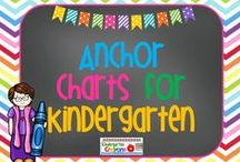 Anchor Charts for Kindergarten / These are some of my favorite charts that I should make for my classroom!