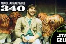 Mousetalgia! - Episode 340 - April 27, 2015 / In this special episode recorded live from Star Wars Celebration Anaheim on April 17, 2015, Mousetalgia welcomes writer/director/puppeteer/creature artist Kirk Thatcher to the show to talk about his work for ILM. Television producer Joseph Freed also joins our roundtable to discuss living la vida Star Wars as we share memories, stories, and opinions about Star Wars past, present and future. Join us at Star Wars Celebration Anaheim for this very special episode of Mousetalgia!