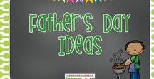 Father's Day Ideas / Ideas for you to use with your students for Father's Day!