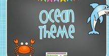 Ocean Theme / This makes a great theme for the end of the year! My students love learning about sea creatures.