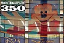 Mousetalgia! - Episode 350 - July 6, 2015 / Everything D23 Expo: This week we talk to Kristin Rodack, a director with D23, to learn more about the upcoming D23 Expo. Get tips and hints straight from the source as we learn about some of the magic in store for Expo attendees. StagePass, StorePass, the massive Hall D23, and the Expo floor are all examined and explained. Plus, we get personal and describe our goals and thoughts about the weekend. Plus more.