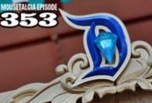 "Mousetalgia! - Episode 353 - July 27, 2015 / Visit Disneyland on July 17, 2015 with Jeff and Kristen as they report from the park on its 60th birthday with location recordings as well as thoughts about the day. Also - Kristen does a rain-soaked VIP Tour, Jeff attends a D23 panel with a host of Disney Legends to learn even more about Disneyland's early days, and we discuss Fantasmic dining packages. Plus - a chance to win souvenir park maps and a July 17 ""I was there!"" button; a tiny Ant-sized movie review - and more!"