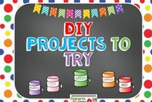 DO It Yourself Projects to Try / Here are easy and beautiful projects I can make for home or school that look terrific and are well within my range. I love making things myself!
