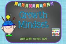 Growth Mindset / Learning about growth mindset in kindergarten