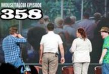 "Mousetalgia! - Episode 358 - August 31, 2015 / Join Team Moustalgia on another in-depth look at the 2015 D23 Expo, including a closer look at the Walt Disney Archives exhibition and a few of the panels and presentations. First, we talk about ""Disneyland: The Exhibit,"" an extensive display of memorabilia, props and ephermera from Disneyland's 60 year history. We also have exclusive commentary on the exhibit from Disney Legend Tony Baxter and Walt Disney Archives Director Becky Cline. Next, we talk about a plethora of panels offered."