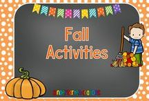 Fall Activities / Fall activities for my kindergarten classroom.  These are simple and engaging.