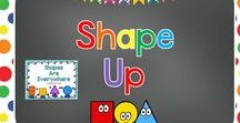 Shape Up / Activities for young children to build their understanding of shapes.