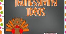 Thanksgiving Activities / Here are some great ideas for Thanksgiving in kindergarten.