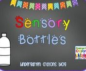 Sensory Bottles / Sensory bottles are a great addition to a kindergarten classroom. Children find them fascinating and calming. They are so easy to make and take just a few minutes.