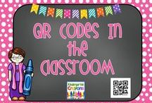 QR Codes In the Classroom / How to use QR codes in the classroom to keep students engaged in learning and build in fun for them! Here will be a variety of ideas to keep them moving and learning.