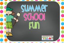 Summer School Fun / What are some great activities you can do during the summer in school or at home to keeps kids engaged and still learning? Here are some great ideas you can try.