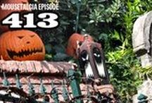 "Mousetalgia! - Episode 413 - September 19, 2016 / This week, Mousetalgia gets spooky as Jeff reviews the brand new ""Happiest Haunts Tour"" at Disneyland Park. Jeff also reports on the opening weekend of Halloween Time, and we discuss the changes to the Haunted Mansion (both permanent and holiday-oriented), and take a ride-through of the chilling new ""lights out"" version of the Tower of Terror. Plus - a listener's trip report of doing Disneyland solo, and we celebrate Dave's birthday!"