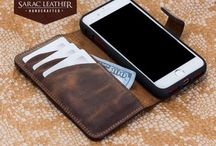 iPhone 7 Leather Wallet / Our Genuine Leather Phone Wallets are designed for your iPhone 7 and 7 Plus
