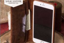 Personalized Leather iPhone Case