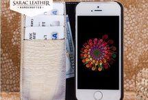 Genuine Leather Handmade iPhone 5 Series Case