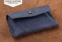 Vintage Style Leather Card Case