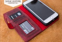 Magnetic Detachable Genuine Leather Wallet