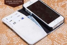 iPhone 5 Serie Leather Case