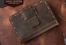 Personalized Handmade Leather Wallet
