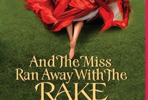 And The Miss Ran Away with the Rake / A board of sights and characters for my next book, And the Miss Ran Away with the Rake, which will come out March 26th 2013. The first book in this  series, Along Came a Duke, is available now.