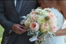 Bridal & Bridesmaids Bouquets by Old Glory Ranch / Old Glory Ranch has a superb floral team that can create just about any look our brides are trying to achieve. Here are some of our recent bridal bouquets & those for the bridesmaids as well!