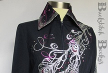 Show Clothing Design Inspiration / Bits and pieces of inspiration for designing Showmanship jackets and Horsemanship tops.