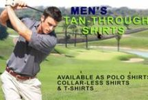 Men's Tan Through Sport Shirts / Available at www.cooltan.com Price: $42.95 Sizes: S - XXL