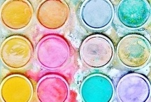 Color Me Happy / Color theory, design and use of color palettes and combinations. / by Sentimental Baby