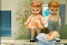 Hello Doll Face / Dolls, new or old, vintage dolls, antique dolls, their clothes, houses and accessories, so lovely!  Art dolls are so fun, an amazing combination of old and new! / by Sentimental Baby