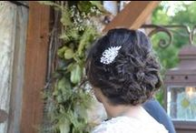 The Hair / Whether for your wedding, a night out with that special someone, or just wanting to look girly!
