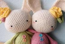 Amigurumi  / Super fun crochet of little people, pets and creatures -- amigurumi! / by Sentimental Baby