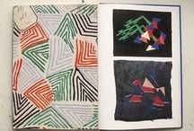 Sonia Delaunay  / I have found my new favorite artist and fabric designer:  Sonia Delanunay!!  Why haven't I known about her before?  She's amazing!  Fabulous art, pattern fashion design and fabric design, all I can say is WOW!!! So glad to have found you!
