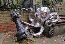 Yarn bombing & street art / by suzy creamcheese