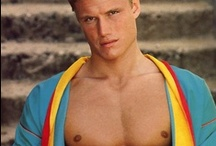 Dolph Lundgren / Swedish actor. Former model.