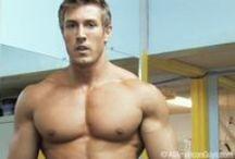 Eric Lavin / Florida-based bodybuilder, model and poet