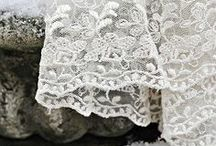 Bliss / Lace and linen, especially vintage laces and intricate linens and homespun love.  Feathery threads of bliss and goodness.... / by Sentimental Baby