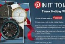 Pin it to Win it Contest! Timex Holiday Best Sellers
