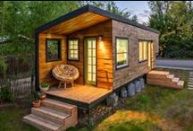 Tiny House / Oh, to be able to get up and go!  The freedom of a tiny house, especially a tiny house on wheels!