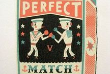 Matchbook Covers / Vintage and modern matchbooks and matchbook covers.