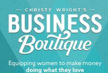 Do What You Love / Equipping women to make money doing what they love