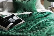 Green velvet inspo / Green velvet in the home and in the wardrobe