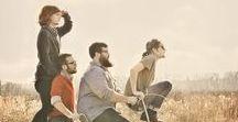 Band groepsfoto / Wat ideetjes voor de band-foto